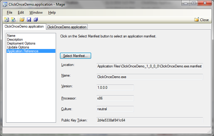 Update Configuration of a ClickOnce WPF Application Using