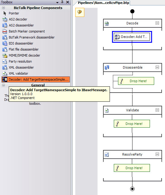biztalk receive pipeline woes Executing biztalk map in pipeline with arguments while its possibility to send in arguments that can be use in an xsl transformation with xsltransform or.